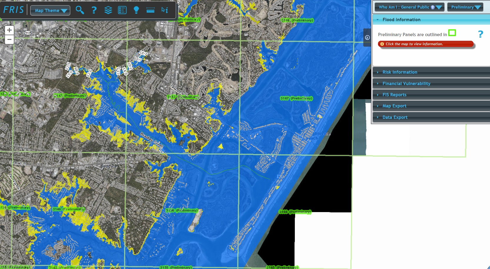 Pender County Nc Map.Preliminary Flood Maps Out For Brunswick New Hanover Pender